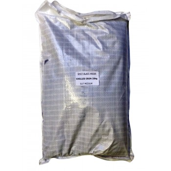 Chilled Iron Blast Grit 25kg