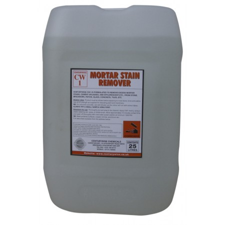 CW1 Mortar Stain Remover - 25lts - Collect only