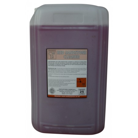 CW12 Red Sandstone Cleaner - 25lts - Collect only