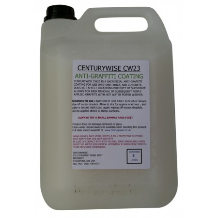 CW23 Anti-Graffiti Coating - 5lts