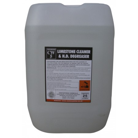 CW5 Limestone Clnr.and H.D.Degreaser - 25lts - Collect only