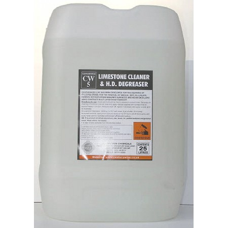 CW5A Limestone Cleaner (aqueous) - 25lts - Collect only
