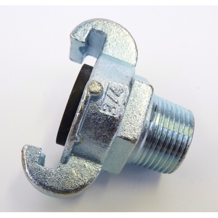 "Claw coupling + 3/4""M nipple"