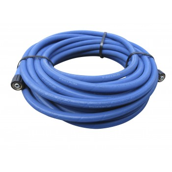 Blue food grade washer hose : 15 mtrs