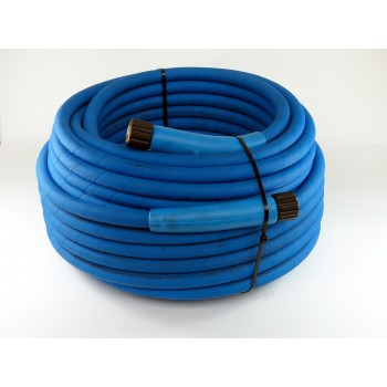 Blue food grade hose : 30 mtrs