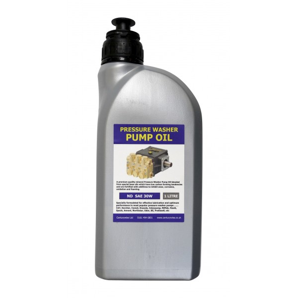 Pressure Washer Pump Oil 1 Litre Sae30